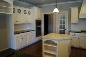 Kitchen with Jay Rambo cabinets